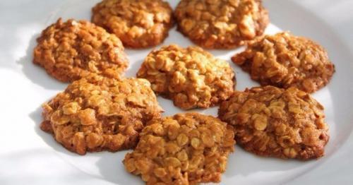 Печенье из овсяных хлопьев без муки и масла яиц. Овсяное печенье без муки, яиц и масла.