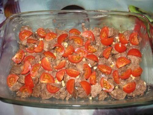 Куриной печени в духовке рецепт