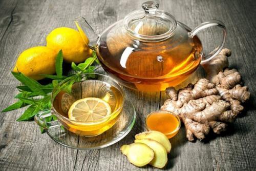 Чай лимон и мед. Польза зеленого чая с лимоном и мёдом
