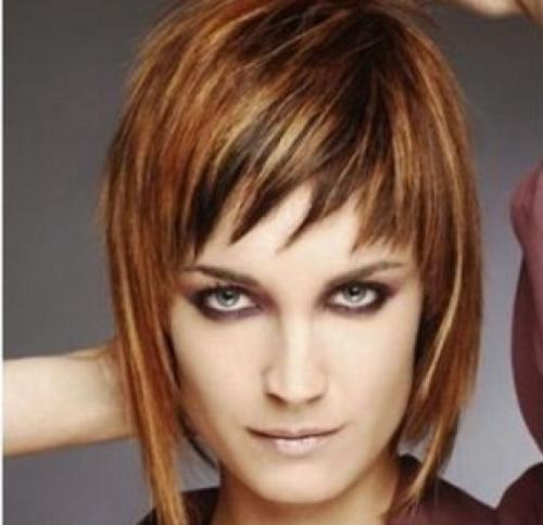 Слоистые стрижки на короткие волосы. Каскад на короткие женские волосы