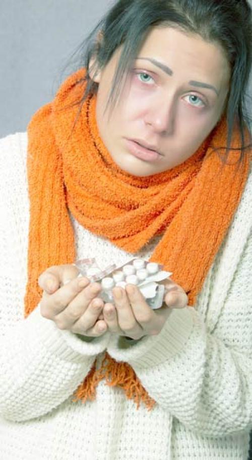 Лекарства от гриппа. Противовирусные препараты