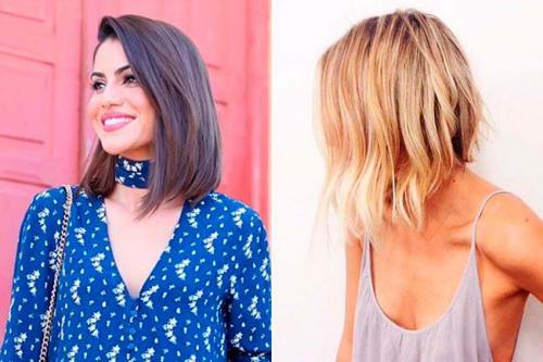 Стрижки разной длины на средние волосы. Что сегодня в моде?