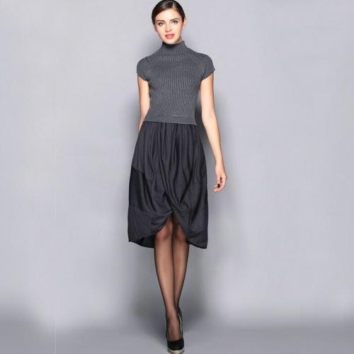 Платье теплое с чем носить. Правила ношения тёплых платьев без рукава