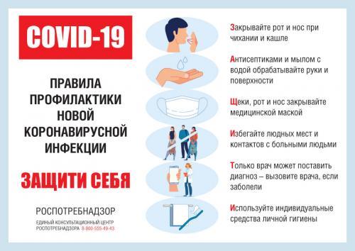 Как не заболеть коронавирусной инфекцией COVID-19? Профилактика коронавируса COVID-19