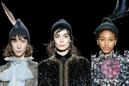 Вязаные шапки 2020 схемы. Модные вязаные шапки сезон 2019-2020 год
