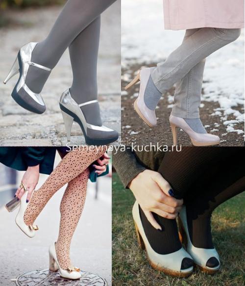 С какой обувью можно носить пальто. КАК носить ТУФЛИ – с пальто.