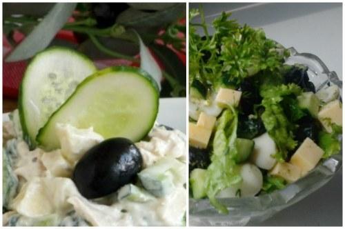 Пп салат с яйцом и огурцом. Cалаты из яиц и огурцов- лучшие варианты для гурманов