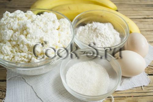 Творожно-банановое суфле в духовке. Творожно-банановое суфле