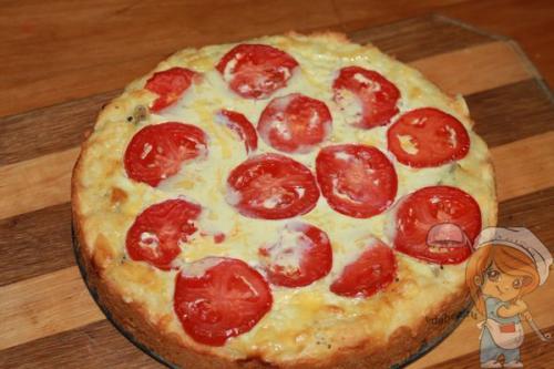 Пирог с помидорами и сыром. Пирог с помидорами — неприлично вкусно и бессовестно простой рецепт!