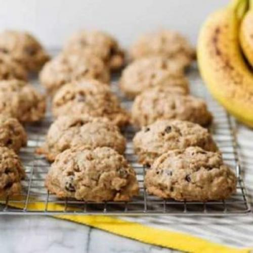 Банановое печенье с творогом ПП. Секреты банановых пп-печенек