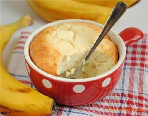 Творожно-банановое суфле для ребенка. Вкусно, нежно и питательно: творожно-банановое суфле для детей