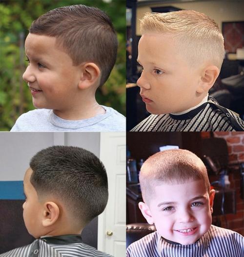Прически для мальчиков блондинов. Короткий обзор стрижек для самых маленьких мальчиков