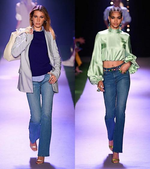 Джинсы 2020 тренды. Модные джинсы весна-лето 2020