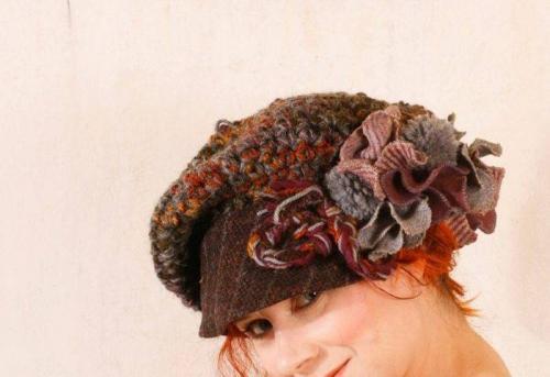 Головной убор для женщины 40 лет на осень. Модные вязаные шапочки, которые подойдут стильным дамам после 40 лет для зимы 2019-2020