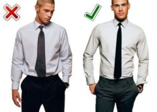 Как носить рубашку с брюками без пиджака