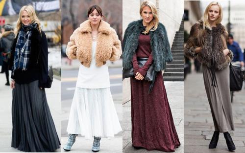 Пальто и юбка макси. ША.  Определяемся с длиной ВЕРХНЕЙ ОДЕЖДЫ