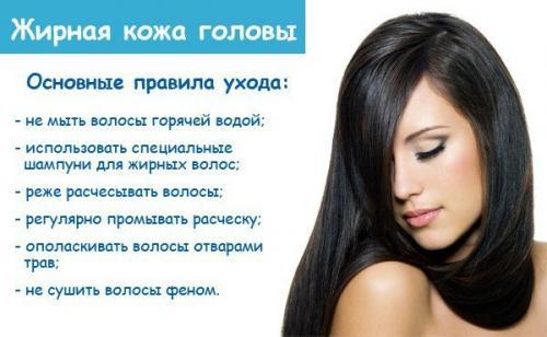 Маска для волос от жирности у корней в домашних условиях. Как правильно мыть жирные волосы, и зачем нужны маски