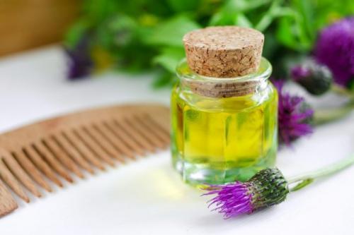 Репейное масло для волос. Как использовать репейное масло для волос