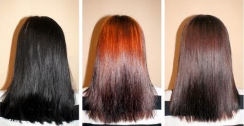 Как смыть красную краску с волос. 20 способов, как смыть черный цвет с волос