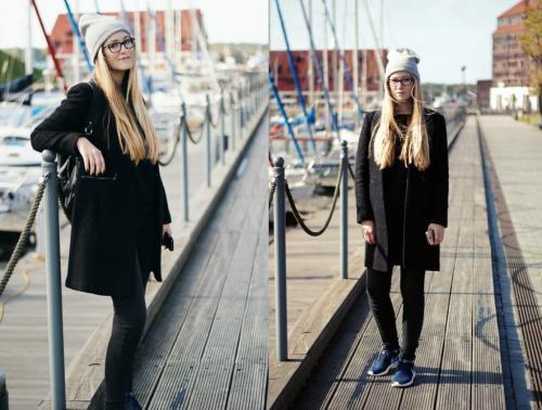 Как носить черное пальто и выглядеть не, как все. Секреты стиля –, как носить чёрное пальто?