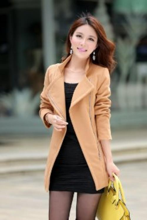 Луки с коричневым пальто. Женское коричневое пальто