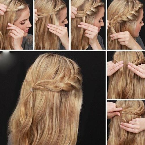 Как уложить волосы красиво сзади. Варианты на стрижку средней длины