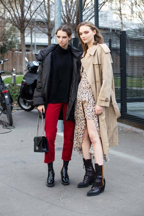 Лук осень-зима 2019 2019. Уличная мода осень-зима 2019-2020 для женщин
