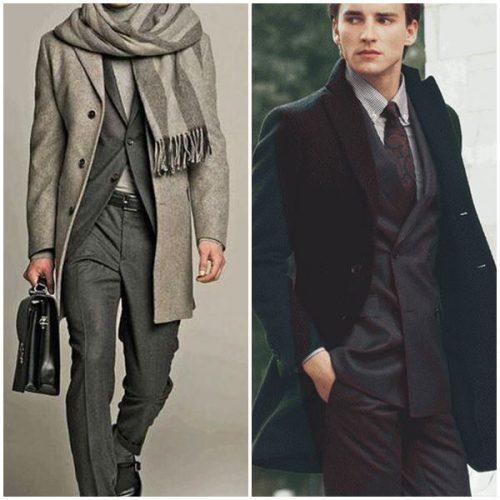 Обувь под пальто мужское. Под какую одежду носить мужское пальто