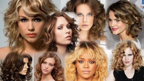 Стрижки на кудрявые волосы 2019. Принцип выбора прически кудрявых волос
