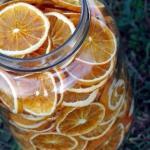Апельсиновый чай со специями.