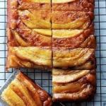 Бананово - карамельный пирог - перевертыш.