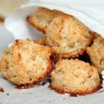 Кокосовое печенье без муки, жира и яиц!
