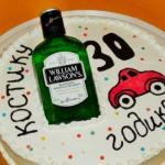 Креативный торт для мужчины.