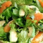 Апельсиновый салат с авокадо!