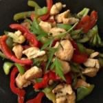 Курица по-китайски!  Быстро, вкусно и полезно!