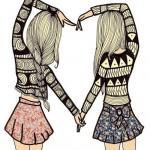 Лучшая подруга - это когда ….