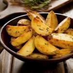 Картофель по-деревенски.  Рецепт вкусной картошечки умопомрачительно!