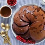 Шоколадные оладушки.  Рецепт этой невероятной вкуснятины сохрани!