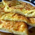 Быстрое хачапури к завтраку?