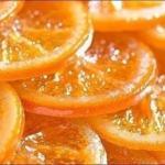 Карамелизированные апельсины.  Постный рецепт.