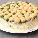 Топ - 5 салатиков на праздники: подборка отличных рецептов.