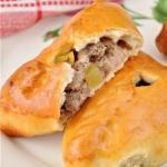 Как приготовить эчпочмак (треугольные пироги с картошкой и мясом?