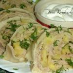 Ханум в пароварке!   Ханум - вкусный и сытный рулет с мясом и картошкой, относится к узбекской национальной кухне.