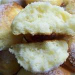 Творожные булочки на завтрак.