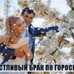 Счастливый брак по гороскопу.