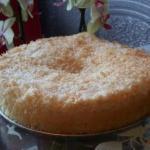 Изумительный кокосовый пирог.