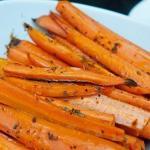 Морковь, запеченная со специями?