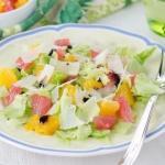 Цитрусовый салат!   Салат айсберг - 1 кочан.