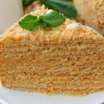 Арахисовый торт.  Ингредиенты: