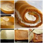Рулет или рецепт очень удачного бисквита.